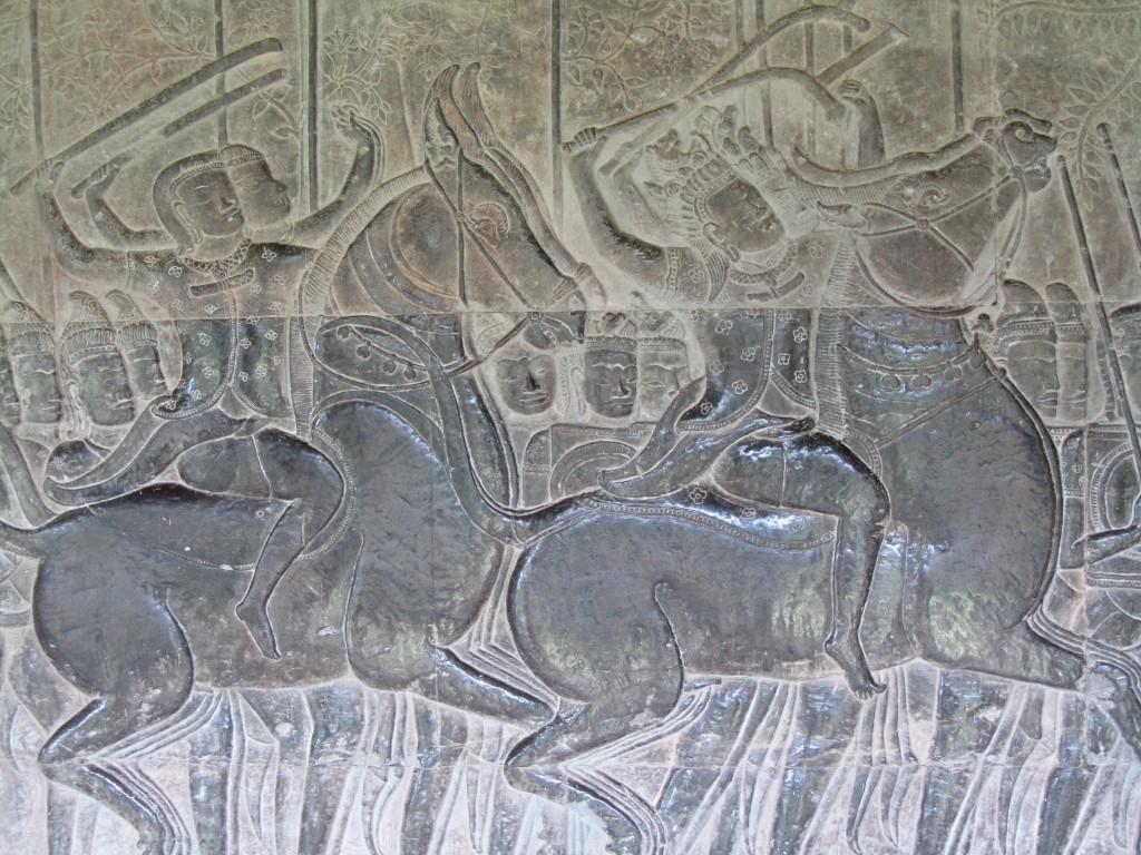 Anchorwat relief