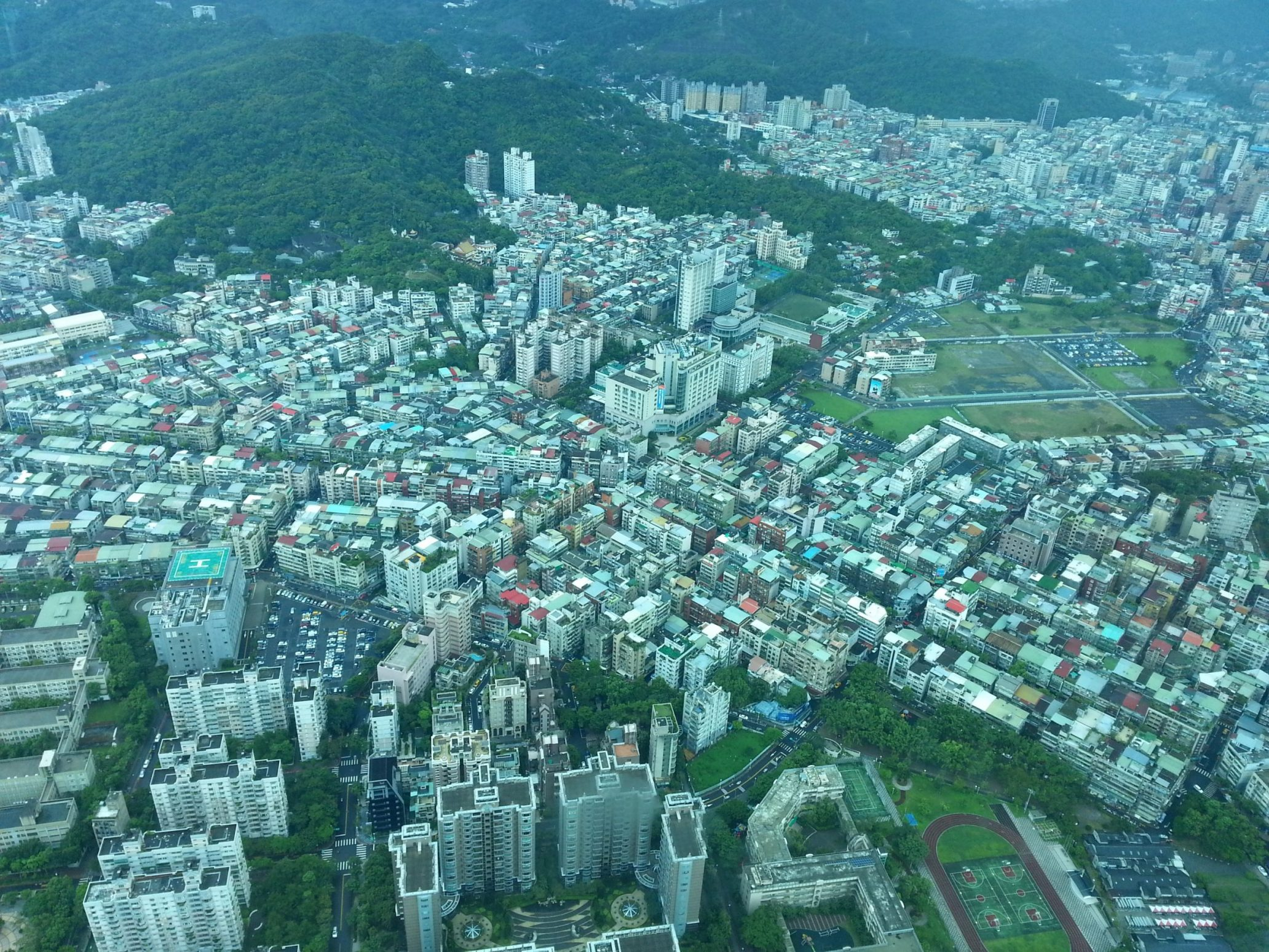 taipei view from the tower