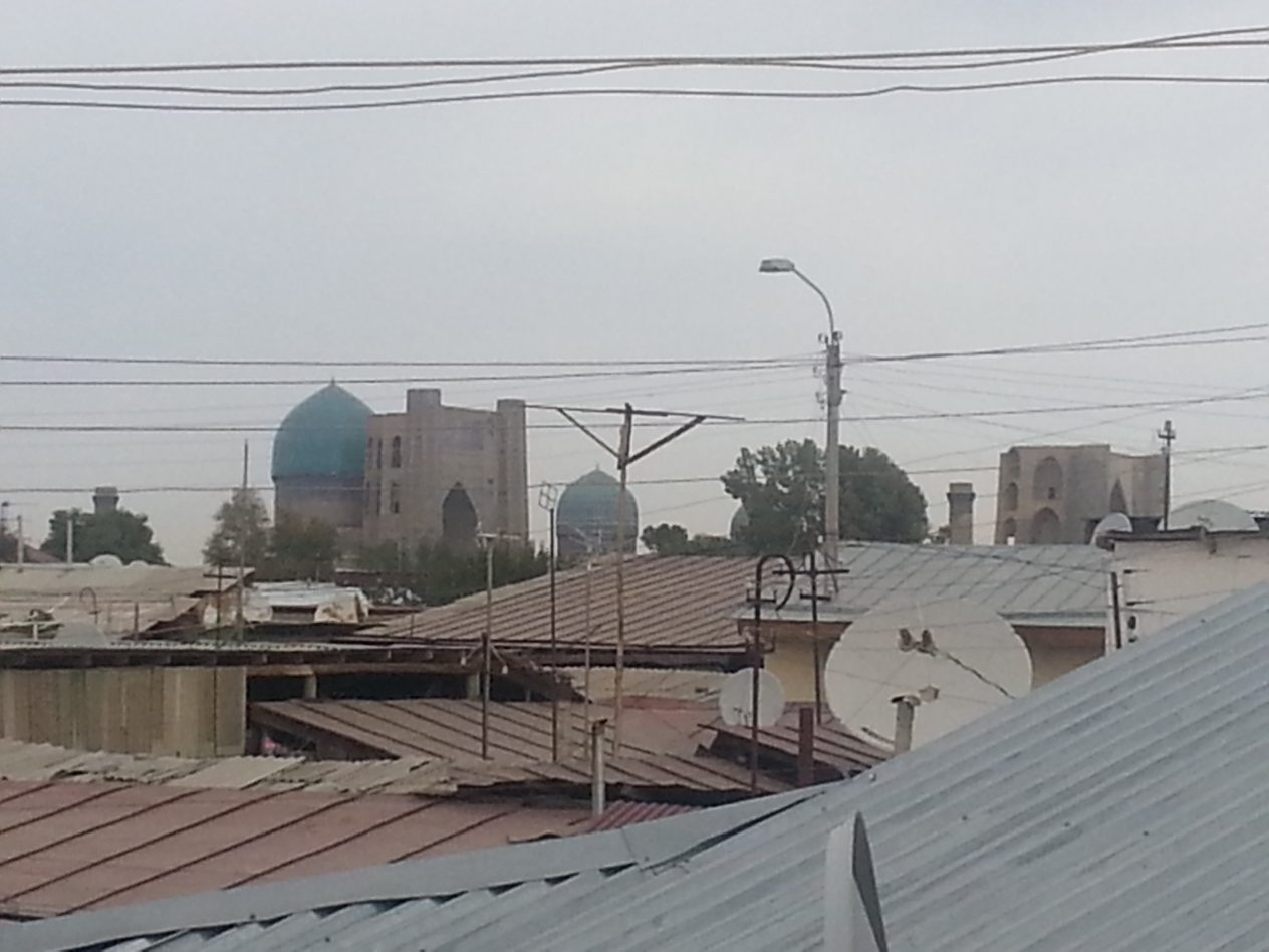 View from Hotel Bahodir 2