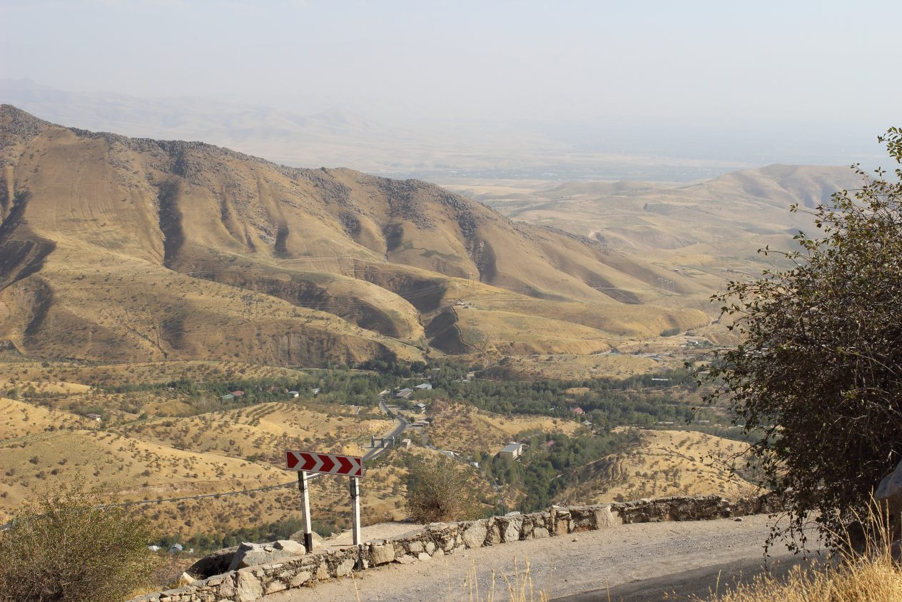 on the way to shakhrisabz