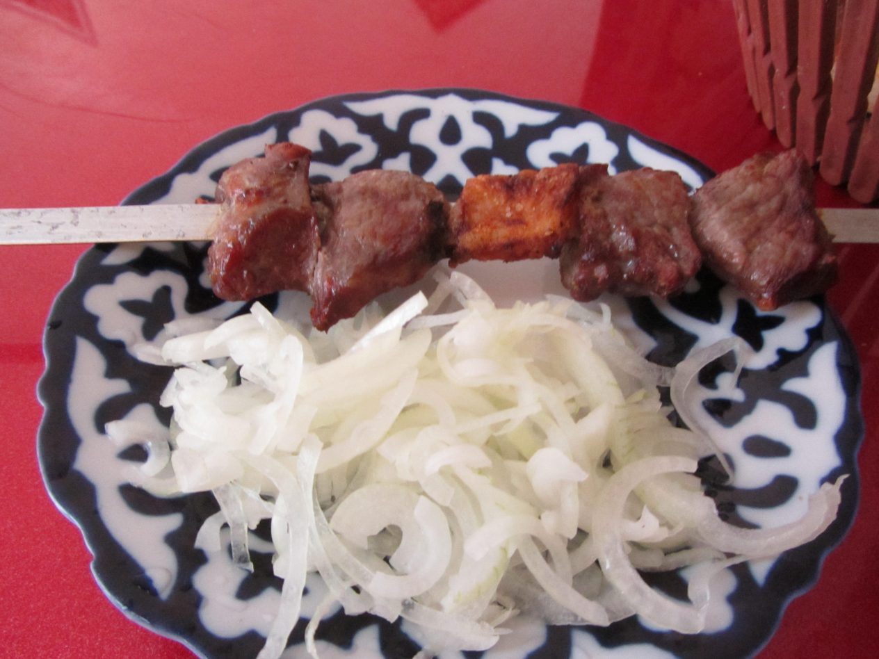 dinner at samarkand