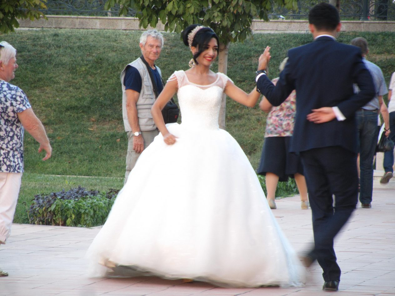 wedding at legistan square