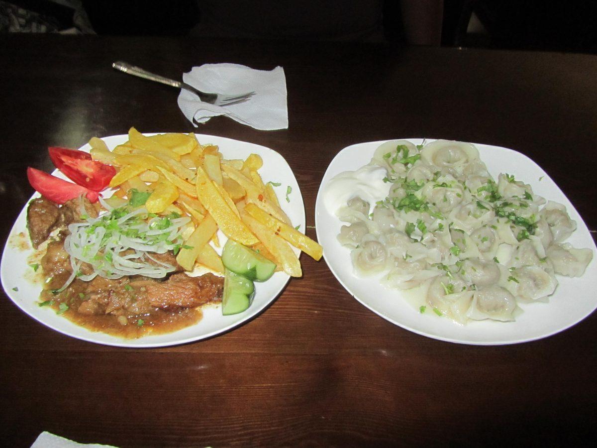 dinner in bukhara