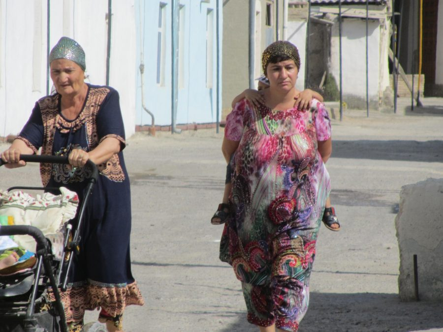 people in bukhara